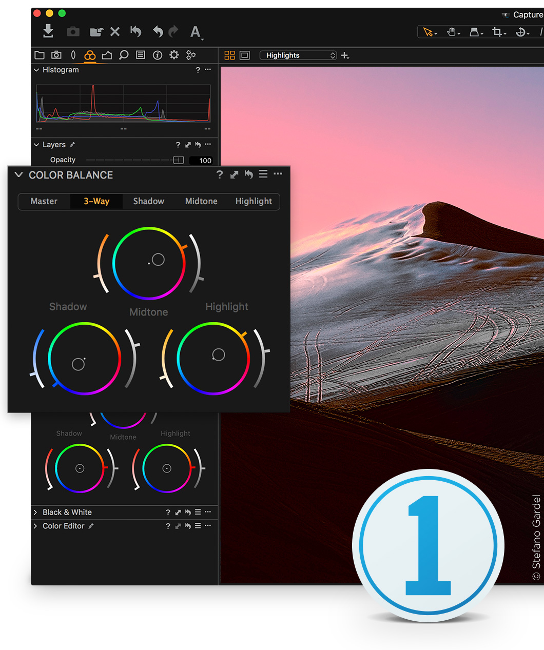 Capture One 11 Sony Bildbearbeitungssoftware | Einzelnutzer, 2 Sitze | Windows [Download]