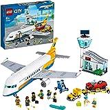 LEGO City Airport Aereo Passeggeri, con Terminale e Camion Giocattolo, Playset di Costruzioni per Bambini di 6+ Anni, 60262