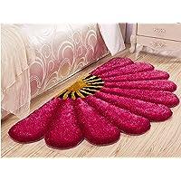 Jai Durga Home Furnishing Semi Sunflower Bedside Runner - (17 x 34 inch)