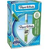 Paper Mate Liquid Paper NP10 Micro Correttore a Penna, 7 ml, Confezione da 12