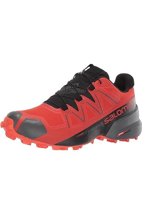 Salomon L38310700, Zapatillas de Trail Running para Mujer, Gris (Light Onix / Black / Bubble Blue), 44 EU: Amazon.es: Zapatos y complementos