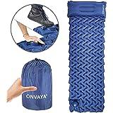 ONVAYA Strandmatte und Isomatte   Liege   Campingmatte  Schlafmatte   Luftmatratze (Isomatte - 1 Stück)