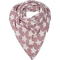 Cashmere Dreams Dreieckstuch mit Kaschmir - Hochwertiger Schal mit Sternen für Damen Jungen und Mädchen - XXL Hals-Tuch…