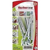 Fischer universele pluggen UX RH K SBkaart, 4 stuks, 8 x 50 mm, 94249