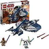 LEGO 75199 Star Wars General Grievous' Combat Speeder Empire Set with Mace Windu and General Grievous Figure, Clone Wars Battle Vehicles