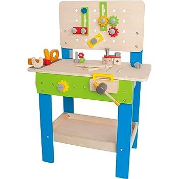 établi solide coloré idee cadeau fille garçon 3 ans noel anniversaire