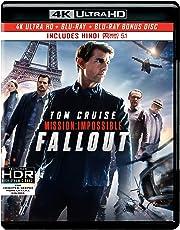 Mission: Impossible - Fallout (4K UHD + HD + Bonus Disc)