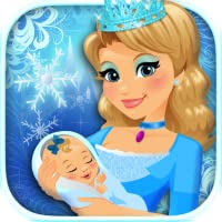 My Newborn Baby Ice Princess & Mommy Care