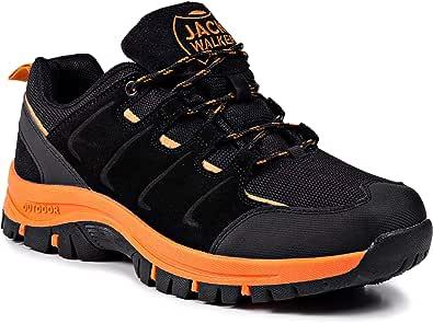 Jack Walker Scarpe da Trekking da Uomo Low Leggero Impermeabili Arrampicata Sportive All'aperto Escursionismo