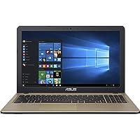 "Asus X540SA-XX311T Portatile, Display 15.6"" HD, Intel N3060, RAM 4 GB, HDD da 500 GB, Marrone [Italia]"