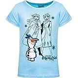 Frozen - Camiseta de manga corta para niña, diseño de Frozen