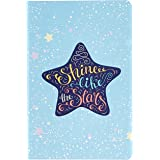 Amazon Brand - Solimo B6 90 GSM Diary, Ruled, 112 Pages (Star)