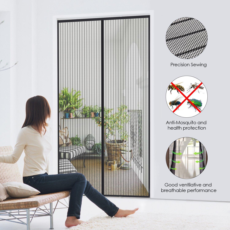 fliegengitter t r insektenschutz magnet fliegenvorhang 90. Black Bedroom Furniture Sets. Home Design Ideas