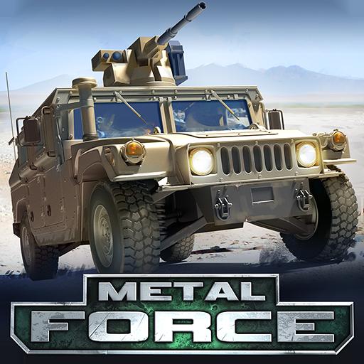 Metal Force: Multiplayer Panzer Schieß Spiele (Multiplayer-spiele)