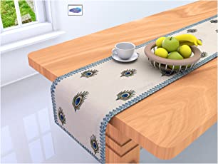 Clasiko Table Runner; 16X72 Inches Full Size; Cotton Canvas Fabric; Table Top Home Decor; Color Fastness Guarantee