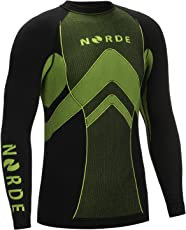 Norde THERMOTECH Herren Funktionswäsche Thermoaktiv Atmungsaktiv Base Layer Langarm Outdoor Radsport Running