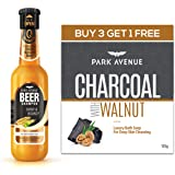 Park Avenue Charcoal Soap and Shiny and Bouncy Beer Shampoo Pack