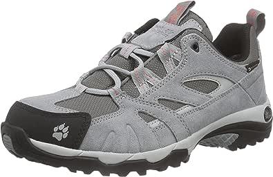 Jack Wolfskin VOJO HIKE TEXAPORE WOMEN, Wanderschuhe für Damen aus wasserfestem und atmungsaktivem Material, Outdoor Schuhe mit robuster und gut