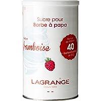 Lagrange 380003 Sucre spécial Barbe à Papa 1 kg Framboise