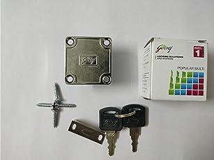 Godrej Furniture Lock Multipurpose For Drawers , Cupboards Etc