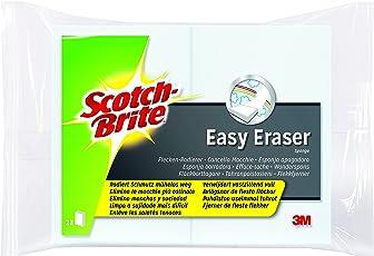 Scotch-Brite EE2 Flecken-Radierer Easy Eraser, weiß, 1er Pack
