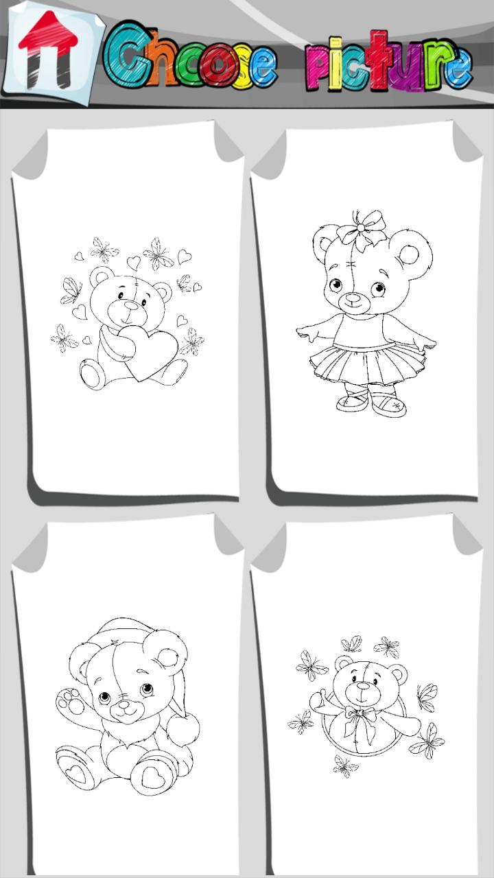 Teddybär-Malbuch: Amazon.de: Apps für Android