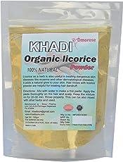 Khadi Omorose Licorice (Mulethi ) Powder - 100 Gm