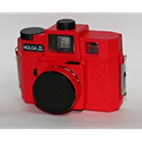 HOLGA GCFN 120 Glass Lens and Coloured Flash in RED