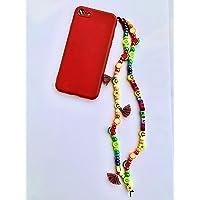 Phone strap perline charm Ferragnez personalizzato con lettere o nome. Porta cellulare da polso e gioiello per il tuo…