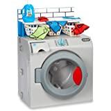 Little Tikes - First Washer-Dryer Interattiva, Realistica e con Suoni, Elettrodomestico Giocattolo per Bambini