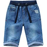 Echinodon Pantalones vaqueros cortos para niño, pantalones cortos de verano, suaves, finos, transpirables.