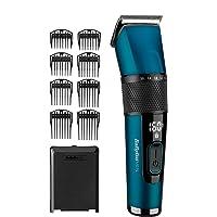 BaByliss Japanese Steel Digital Haarschneider E990E mit 45 Längeneinstellungen durch Drehrad und 8 Kammaufsätzen…