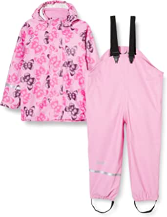 CareTec Mädchen 4003 Regenset, Pink (Pink), 80 (9-12 Monate)
