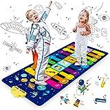Innedu Alfombra Piano, Alfombra Piano para Niños, Cielo Estrellado Alfombrilla de Baile Estera Piano Mat Juguetes Educativos