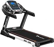 Powermax Fitness TDA-125 (2.0 HP), Smart Run Function, Auto Lubrication & Auto Inclination Motorized Treadmill for Cardio Wor
