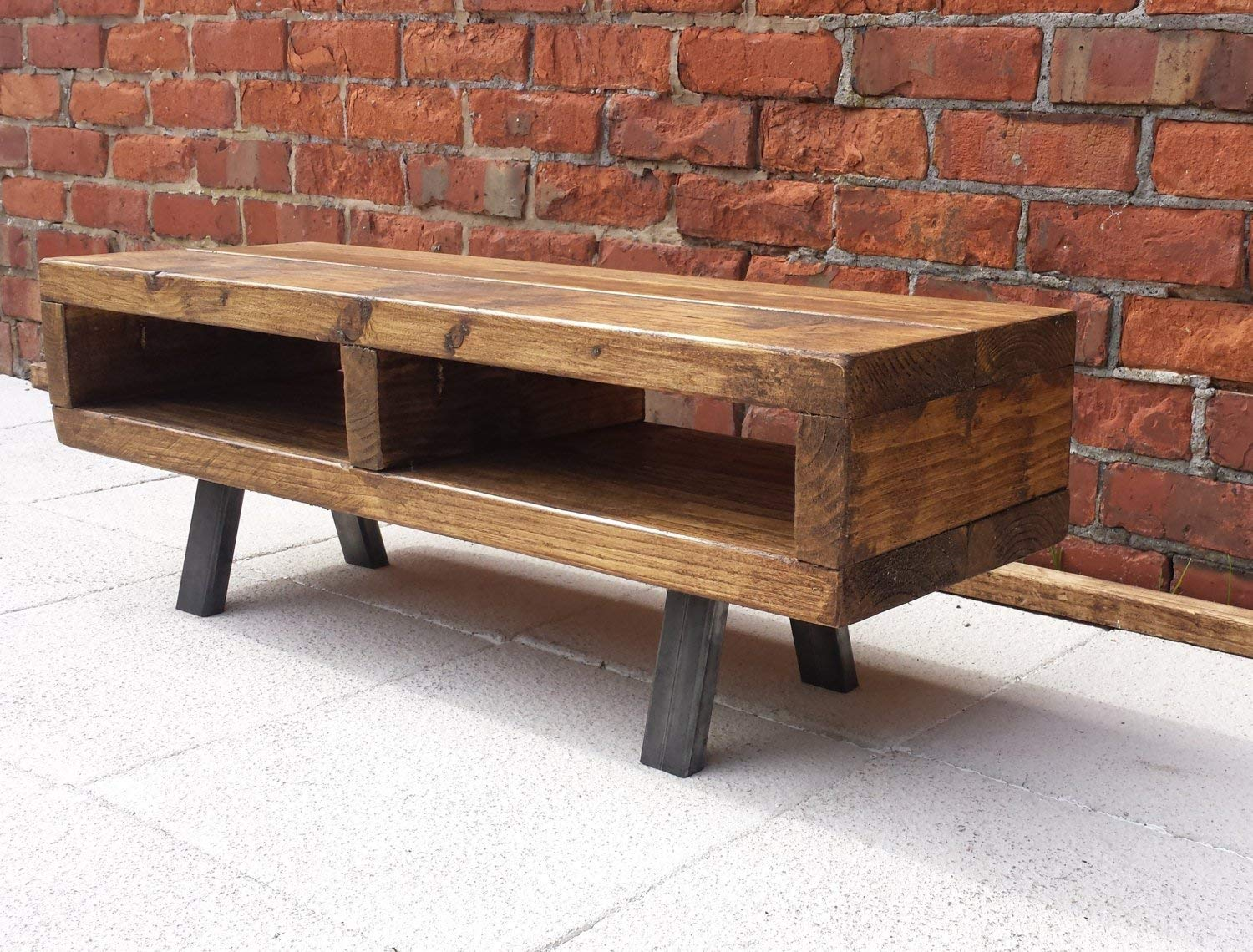 Tv Stand Contemporary For Living Room Rustic Wood Tv Unit Top