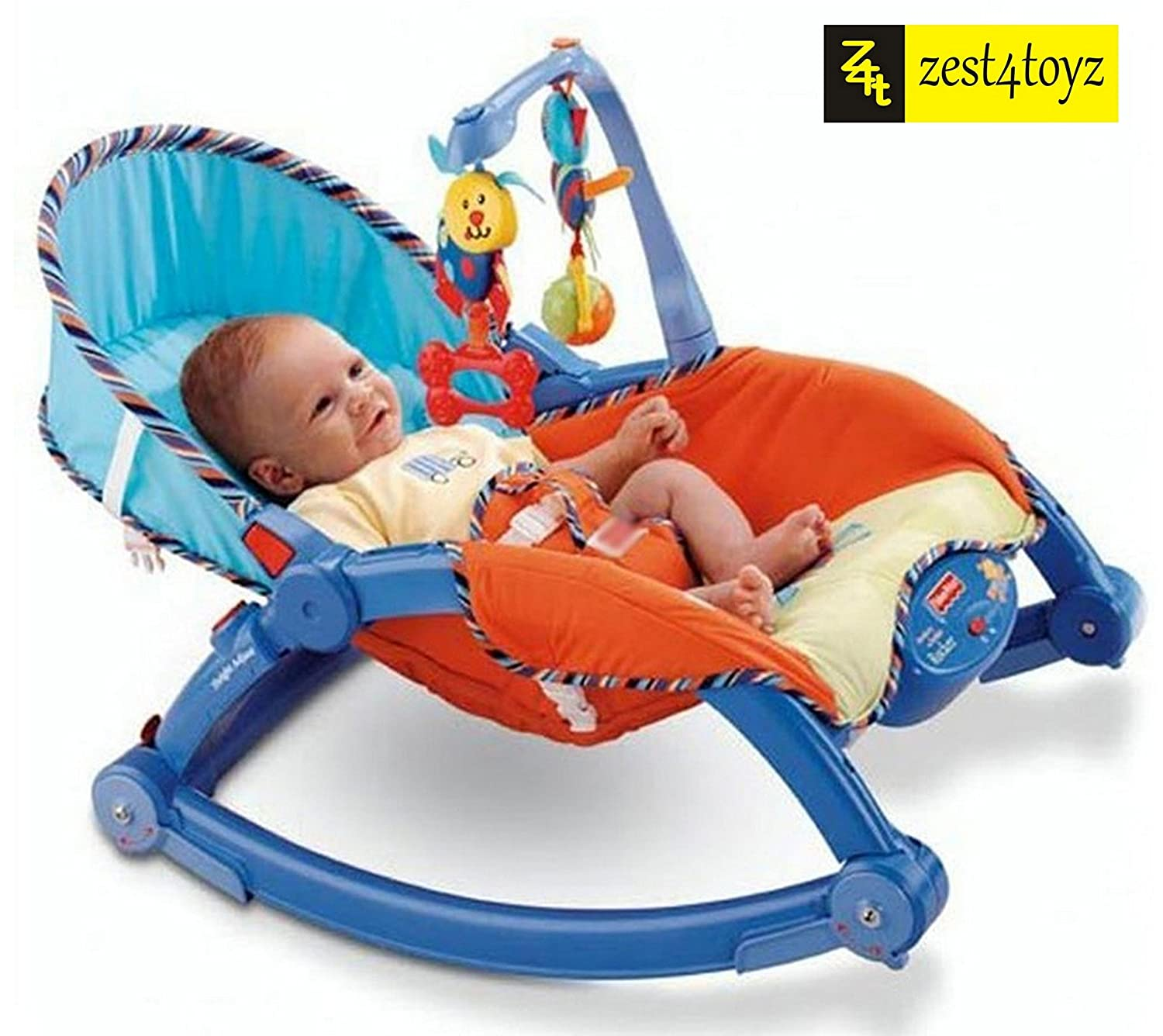 Buy Zest 4 Toyz Newborn to Toddler Portable Rocker Bouncer Chair