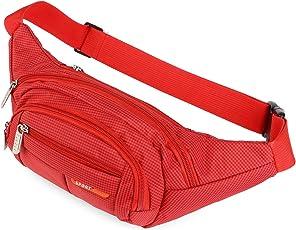 AirZyx Wasserdichte Bauchtasche Geeignet für Reise, Sport & alle Outdoor Aktivitäten, Hüfttasche für Damen und Herren, Bauchtasche Wasserdicht Hüfttaschen für Running