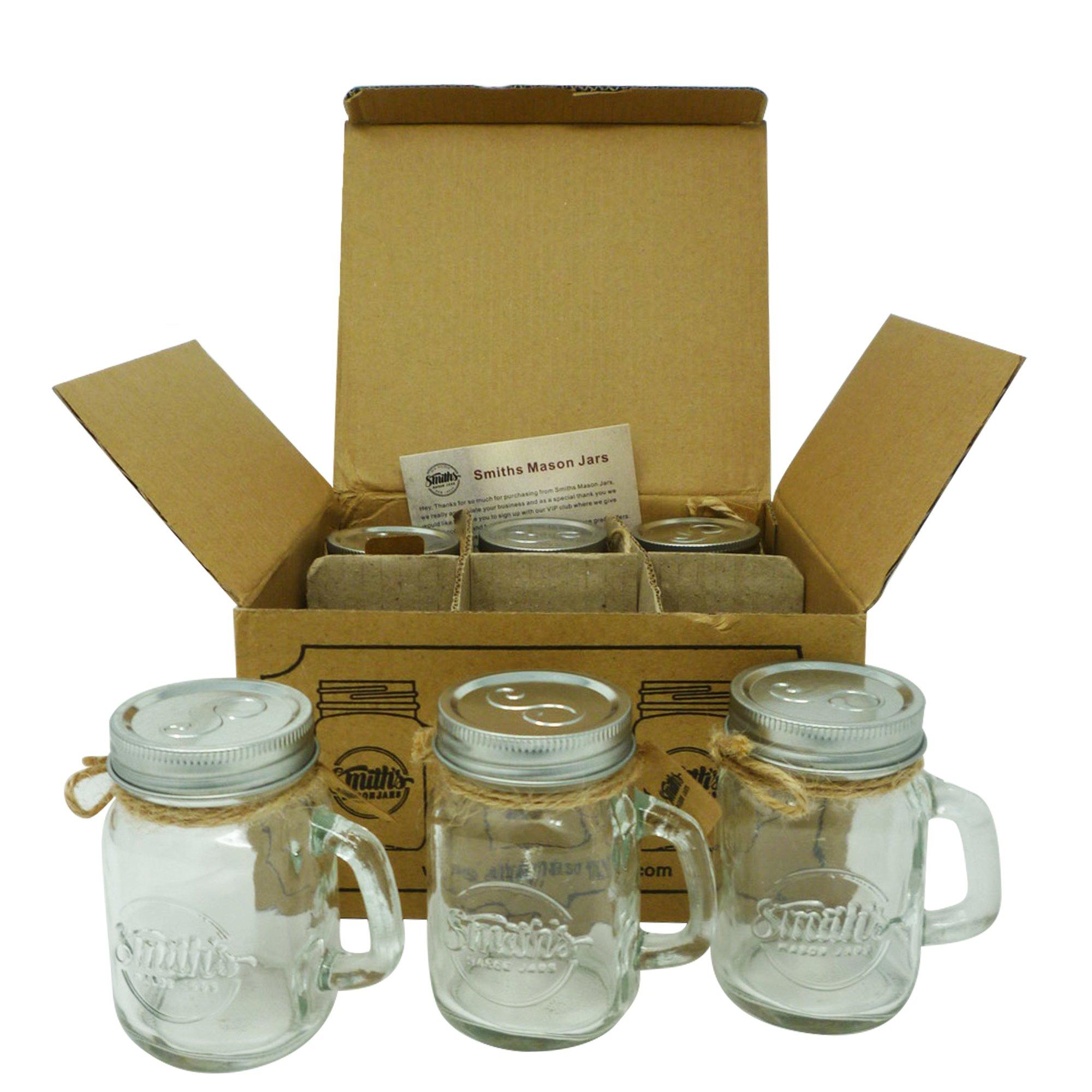 Smith S Mason Jar Dispenser di Sapone