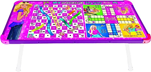 Zitto Barbie Multipurpose Wooden Gaming Foldable Table