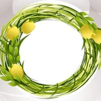 Frühling Foto-Collage