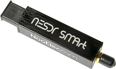 NooElec NESDR Smart - Prämie RTL-SDR mit Alu Gehäuse, 0,5 PPM TCXO, SMA Input. RTL2832U & R820T2-basierte Software Defined Radio