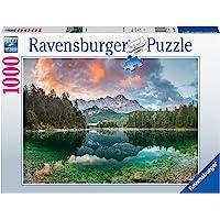 Ravensburger - Puzzle 1000 p - Vue sur le lac Eibsee, Allemagne - 88628 - Pour adultes et enfants dès 14 ans - Premium…