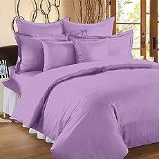 Linenwalas  Double Bed Stripes Cotton Quilt Cover