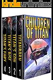 Children of Titan Series: Books 1-4: (A Space Opera Thriller Box Set)