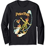 Disney Peter Pan Darling Flight Vintage Manche Longue
