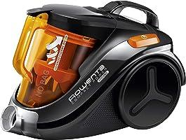 Rowenta Compact Power Cyclonic RO3753EA - Aspirador etiqueta energética AAA, sistema ciclónico sin bolsa, depósito 1.5 l, cepillo parquet y boquilla 2 en 1 para ranuras, 79 dB A, fácil de limpiar