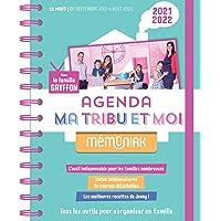 L'agenda Ma tribu et moi avec la famille Gryffon Mémoniak 2021-2022