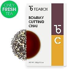 Teabox Assam Masala CTC Chai Spiced Loose Leaf Tea, 100gm (50 Cups)