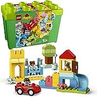 LEGO 10914 DUPLO Classic Deluxe Steinebox Bauset mit Aufbewahrungsbox, erste Steine Lernspielzeug für Kleinkinder im…